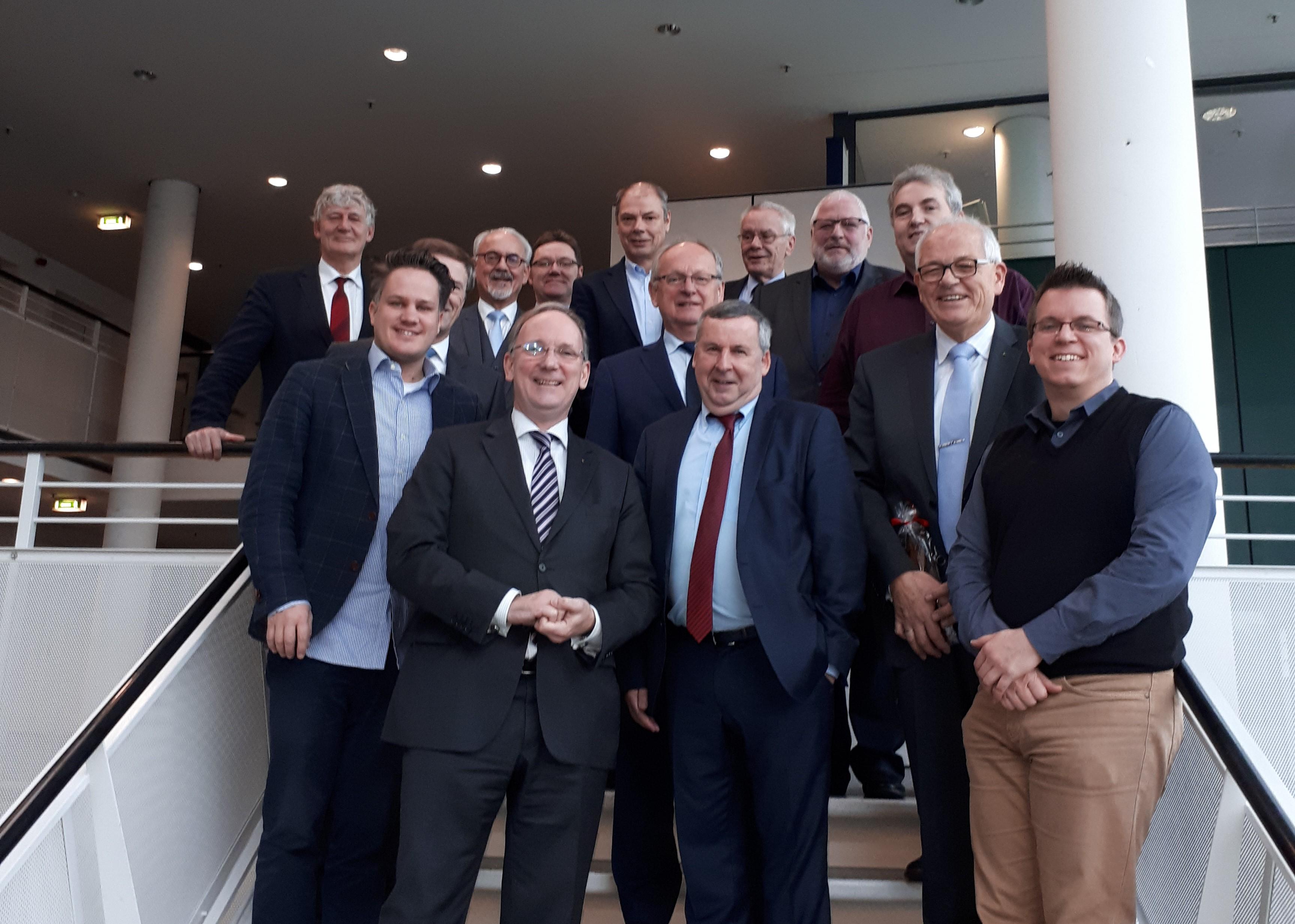 AGIT verabschiedet langjähriges Aufsichtsratsmitglied Hubert Herpers